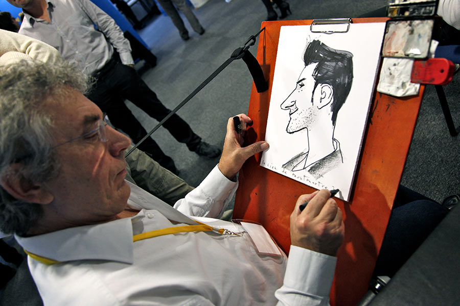 caricature Dell, caricaturiste Dell, animation Dell, animation entreprise, animation caricaturiste