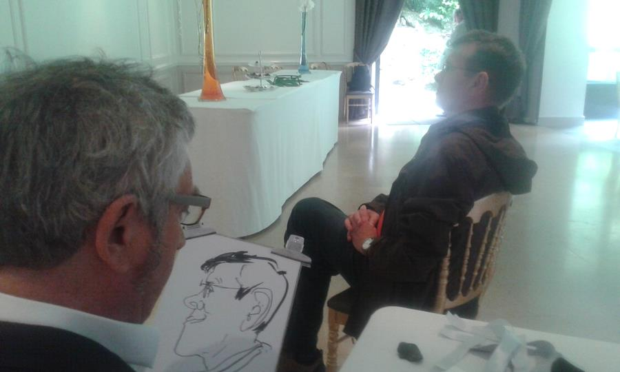 Caricaturiste pour mariage, animation mariage
