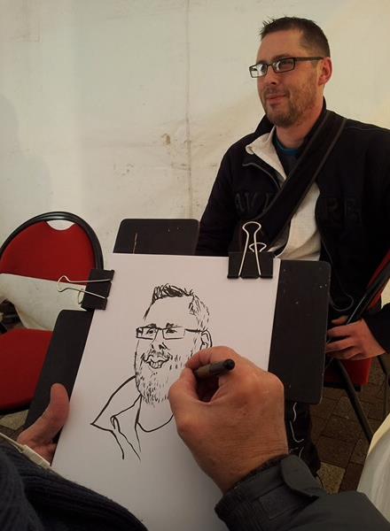 Caricature, caricaturiste, animateur caricature, animateur caricaturiste