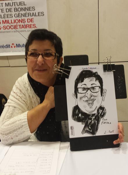 Caricaturiste séminaire, animation entreprise, animation entreprise