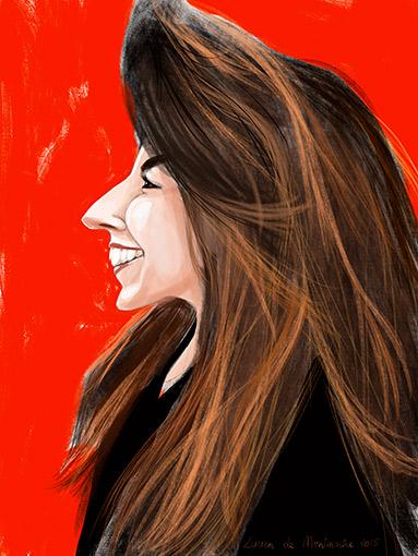 Caricature numérique avec l'IPAD